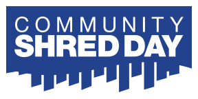 community shred day logo